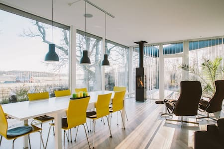 Designer villa with panorama view - Sigtuna V - House