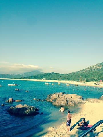 Villa vue sur mer à 80m de la plage - Belvédère-Campomoro - Casa