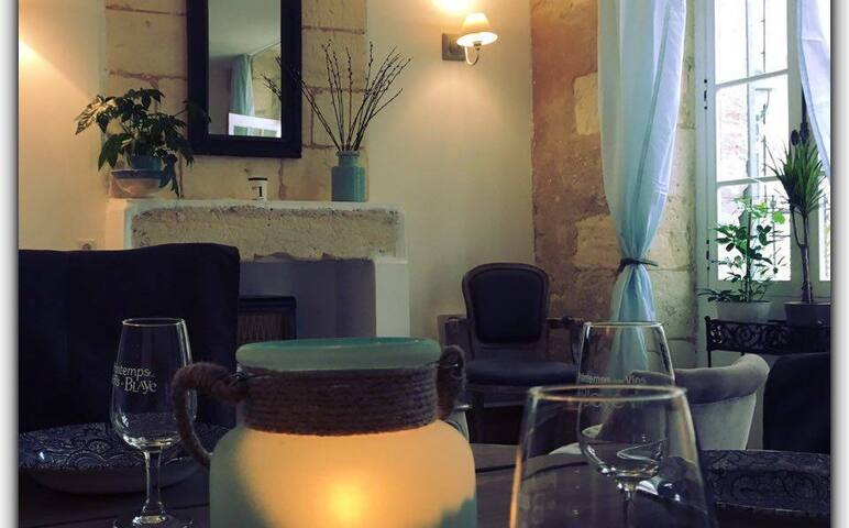 Chambres au coeur de Plassac (33) - Plassac - Bed & Breakfast