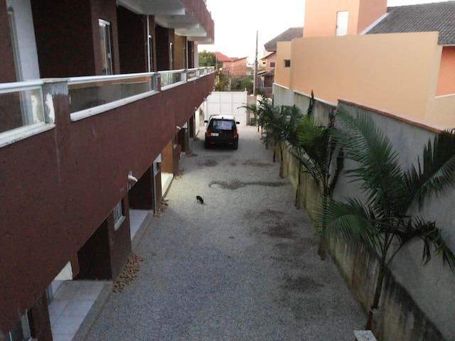 Residencial Neto 1 cama-casal+1 sofa-cama. Apto 02 - Florianópolis - Appartamento
