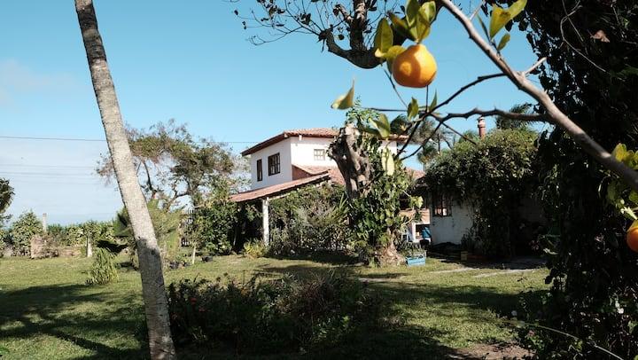 Pousada Guainamby (Casa de Rita) em Cumuruxatiba