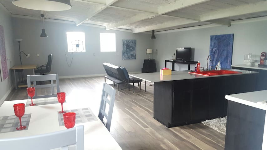 Private Apt on house property - Fort Worth - Loft