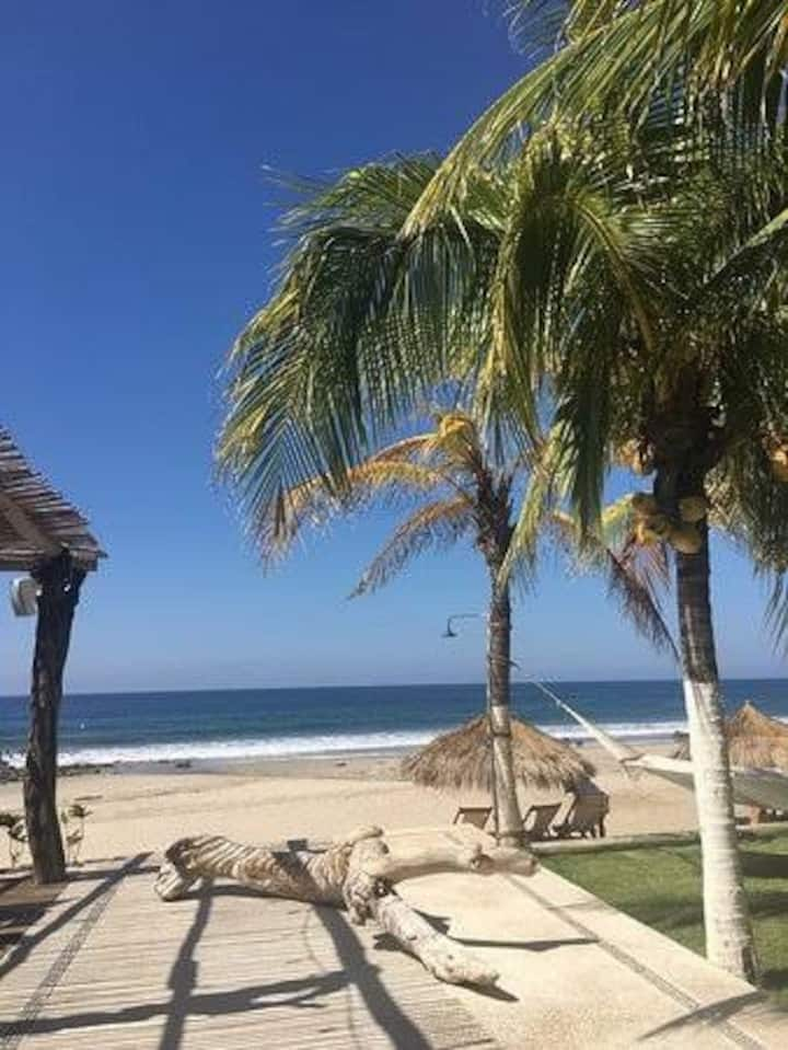 Air conditioned private casita with beach access