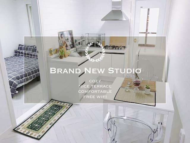 New Open!! Brand New Cozy Studio near Dongdaemun!