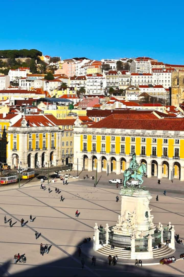 Commercial square - Lisbon, Portugal