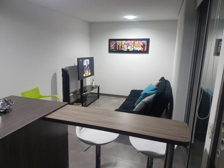 Moderno estudio tipo Hotel, en milla de Oro Ibagué