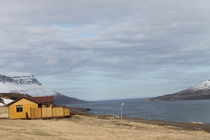 COTTAGE&HOT TUB ON THE FIORD
