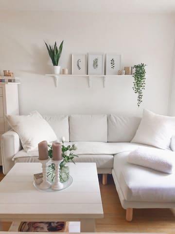 Scandinavian style studio 5 min from city center