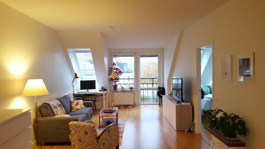 Very bright apartment 15m from city - Nacka - Apartamento