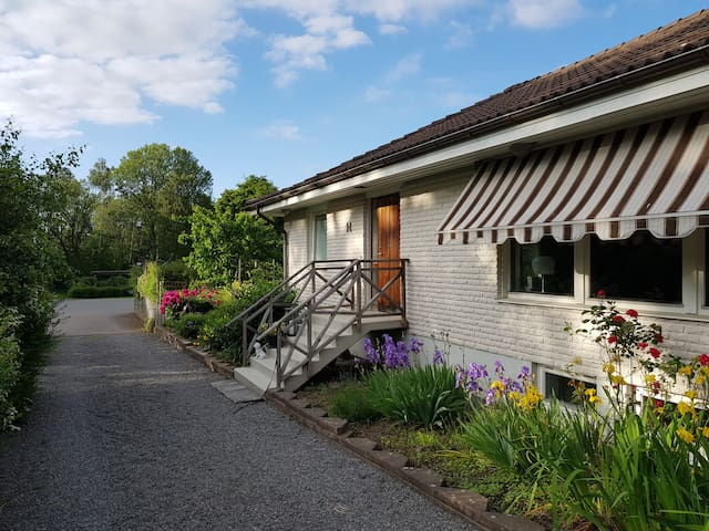 Spacious house close to Gothenburg and the sea