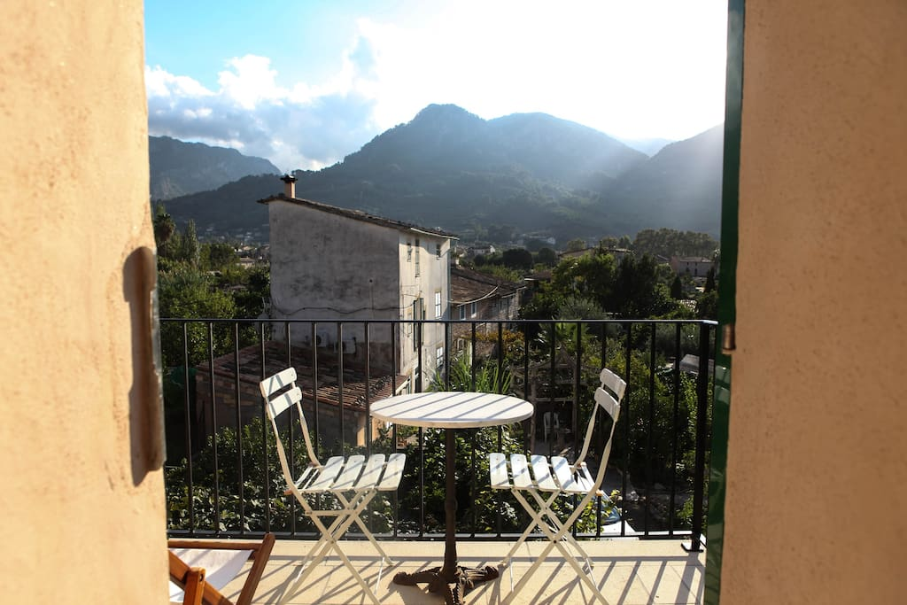 Balcony/Terrace with view