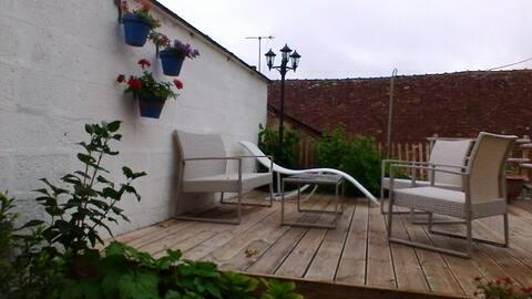 Casa adossada petita a Sainte Maure de Touraine