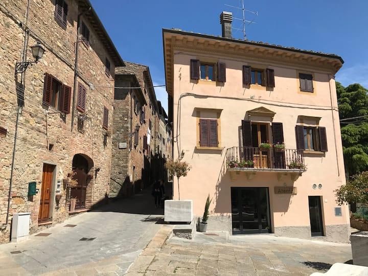 Casa Gina on Francigena near San Gimignano