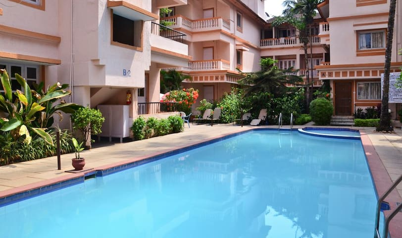 Studio Apartment on Rent - Candolim - Daire
