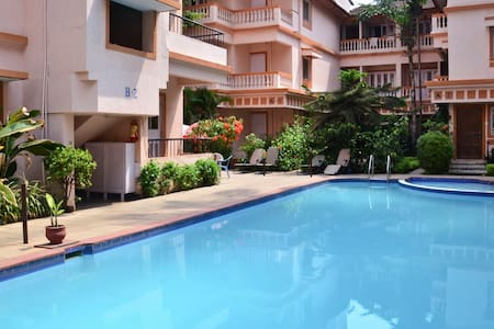 Studio Apartment on Rent - Candolim - Apartament
