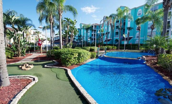 ~ Grande Villas Resort Orlando, FL 1 BR Condo ~