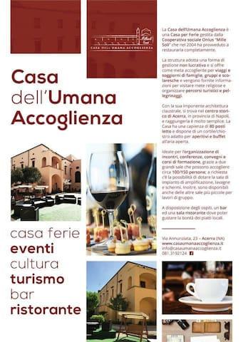 CASA DELL'UMANA ACCOGLIENZA - Acerra - Bed & Breakfast