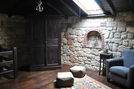 Luxurious Stone house (maisonette) - Psakoudia - House