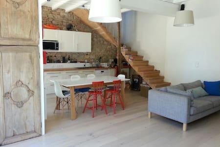 maison de charme en pierre proche de Lyon - Morancé
