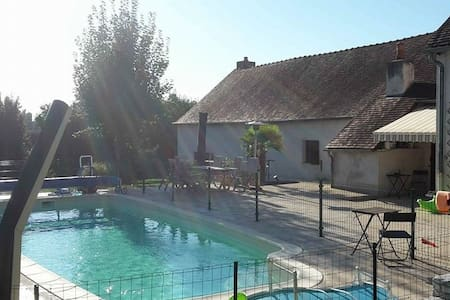 Apartment in Autun & swimming pool! - Autun - Cottage