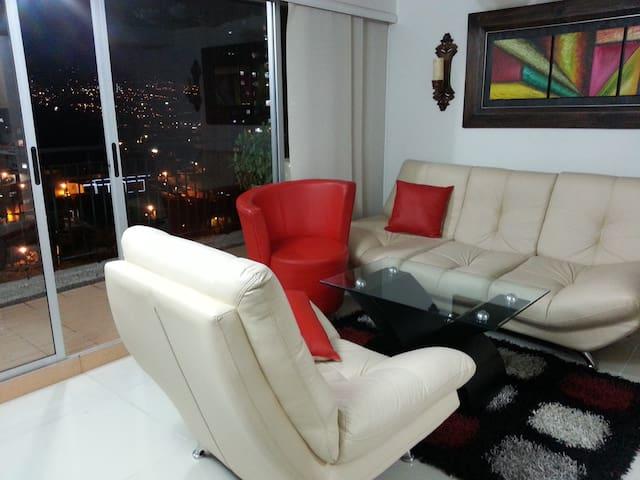sabaneta apartamento cama y/o sofa - Sabaneta - Flat