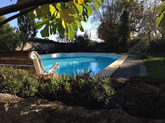 Maison de vacances pleine de charme et familiale - Larressingle - Talo