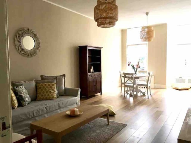 Lovely two bedrooms apartment in The Hague!