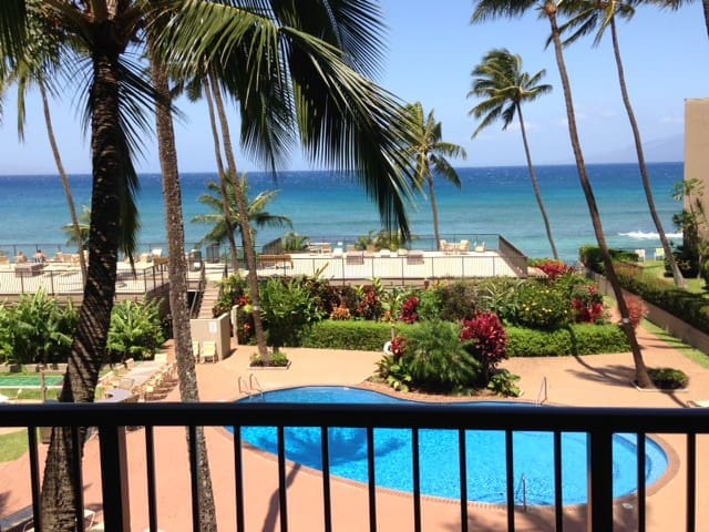 Stunning views of Pacific from private lanai