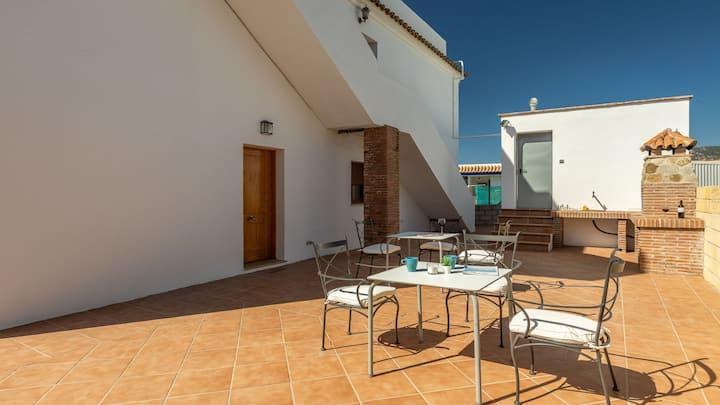 Bonito apartamento en Bolonia, a 300 metros de la playa ( Aprt. Luz B)