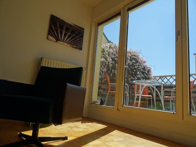 Sonnige Wohnung im Zentrum - Stockerau - Apartamento