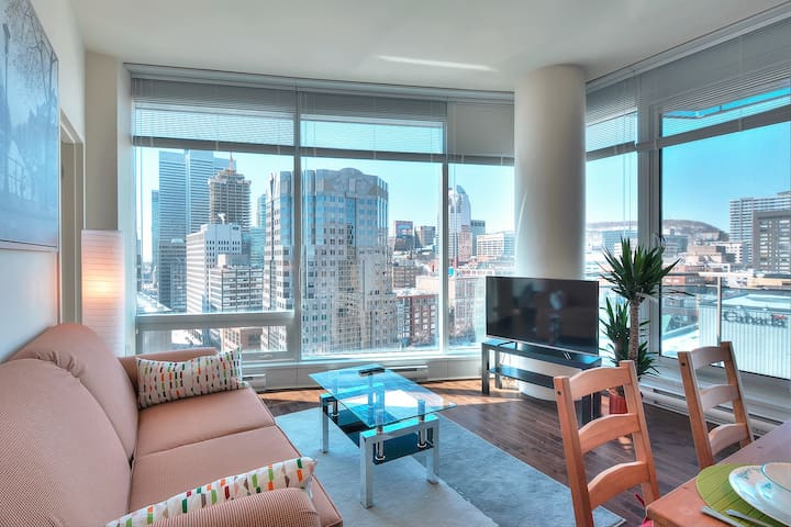 High-end with breathtaking view Condo. - Montréal - Flat
