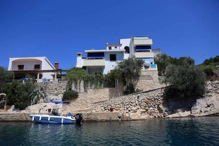 Studio apartment Igor - 5 m from beach: SA5(2) Cove Pokrivenik, Island Hvar