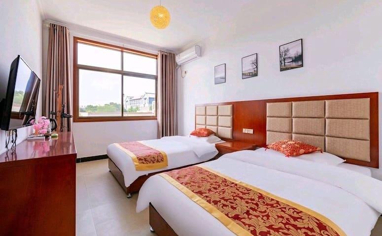 华山景区舒适双床房