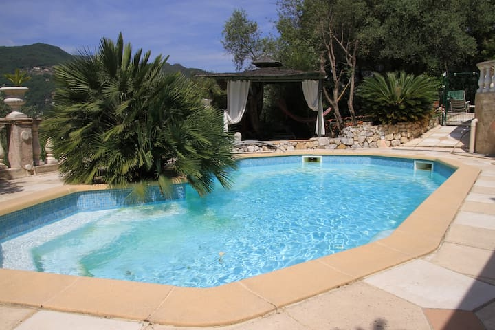 Peaceful independant studio in Nice hinterland (: - Saint-Martin-du-Var - Apartemen