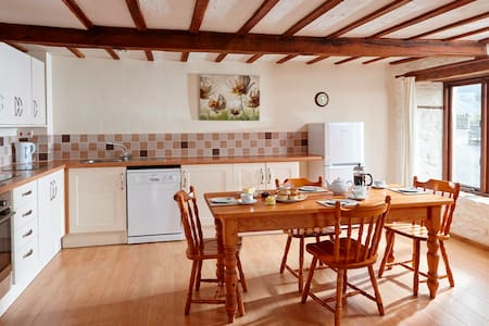 Spacious cottage with shared pool and sauna - Devon - Rumah