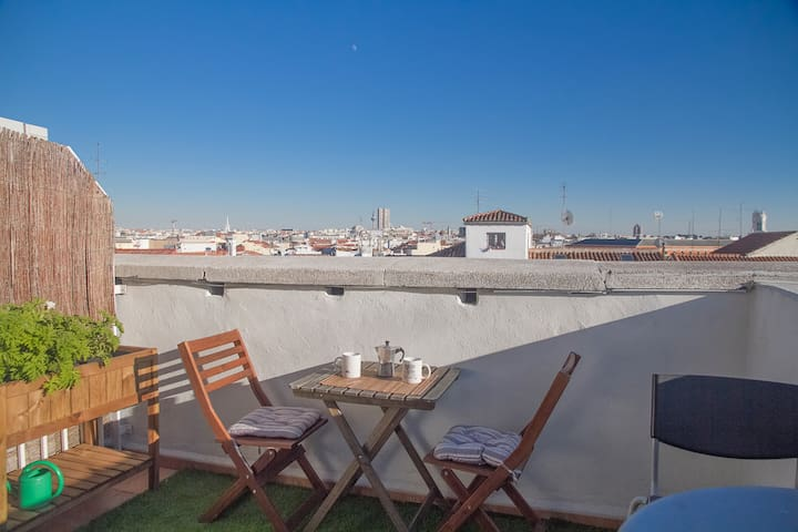 ATICHES: Amazing views of Madrid - Madrid - Apto. en complejo residencial