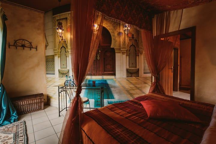 Pokój Marrakesz dla czterech osób
