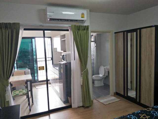Full Furnished, Separated Equipped Kitchen Room.