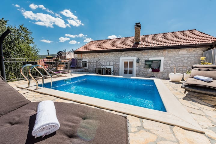 Luxurious Villa Didova Struga with a private pool