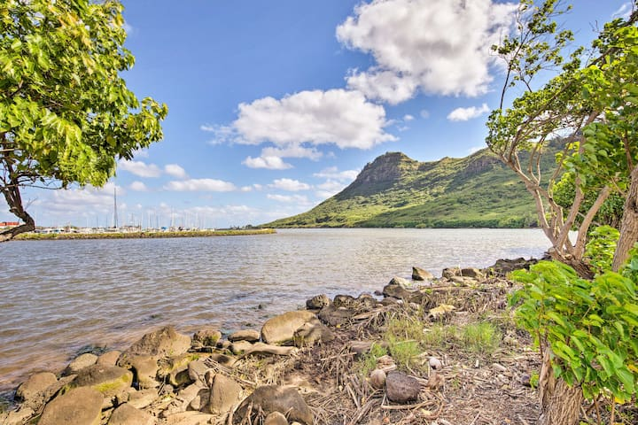 NEW! Nautical Lihue Studio w/Balcony & River Views