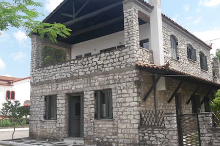 Traditional House in quaint village in Peloponnese