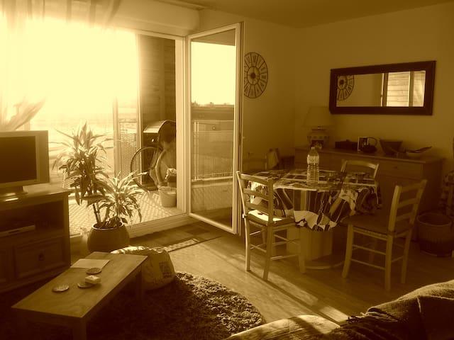 Appartement agréable et lumineux - Brétigny-sur-Orge - Apartamento