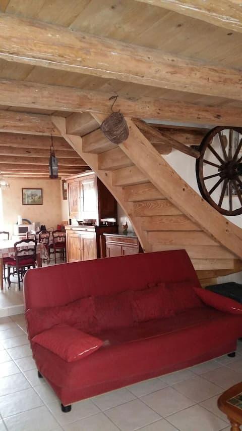 Gîte très bien équipé au coeur des Vosges
