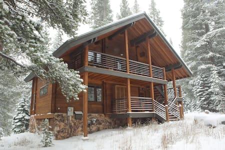Kirkwood beautiful log cabin - Kirkwood - Talo