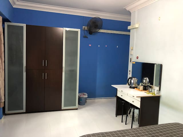 Spacious private room in West SGP, shared toilet