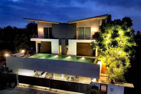 Pool Villa @ Donmaung 2 Bedrooms, 1king&1Queen bed
