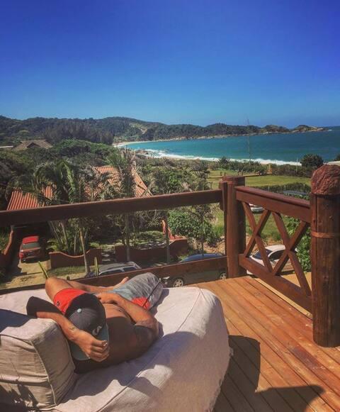 Estaleiro Beach Hostel cama 1