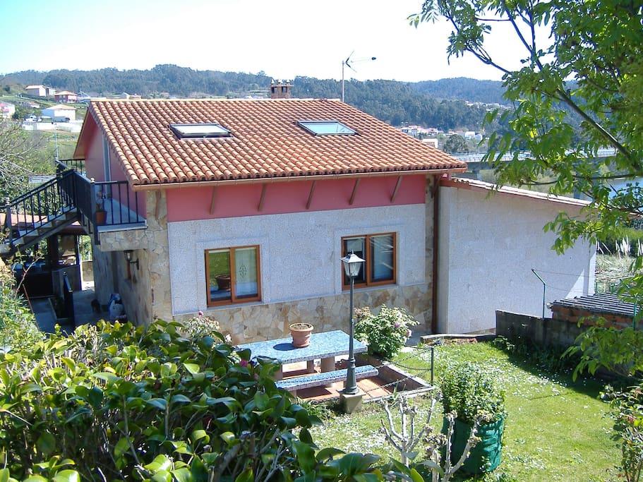 Chalet individual con vistas al mar casas de campo en - Casas de campo en galicia ...