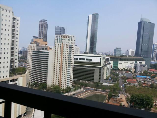 ★1BR fl 16th CBD - Tanah Abang - Apartment