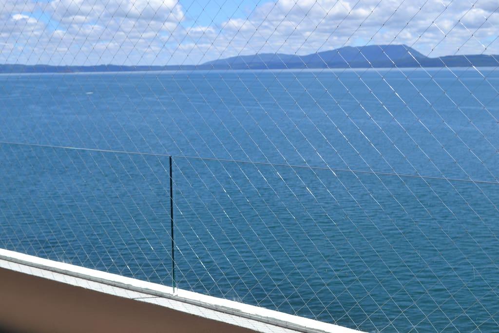 Vista desde terraza del departamento